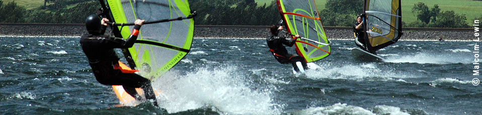Windsurfers in Wind!